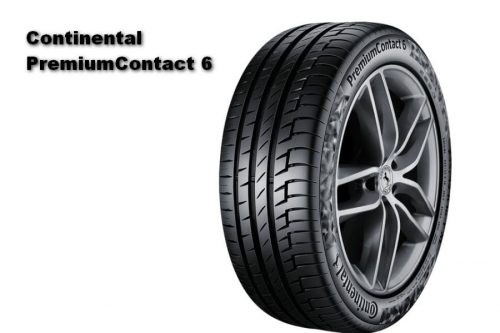 Auto Zeitung 2021 Test of 22 540 R18 UHP Summer Tires Continental PremiumContact 6