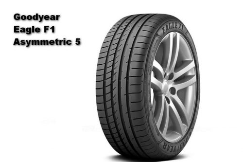 Auto Zeitung 2021 Test of 22 540 R18 UHP Summer Tires Goodyear Eagle F1 Asymmetric 5