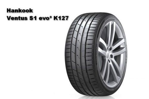 Auto Zeitung 2021 Test of 22 540 R18 UHP Summer Tires Hankook Ventus S1 evo³ K127