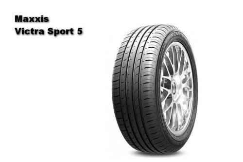Auto Zeitung 2021 Test of 22 540 R18 UHP Summer Tires Maxxis Victra Sport 5