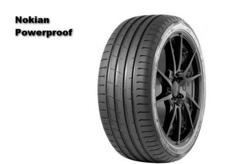 Auto Zeitung 2021 Test of 22 540 R18 UHP Summer Tires Nokian Powerproof
