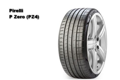 Auto Zeitung 2021 Test of 22 540 R18 UHP Summer Tires Pirelli P Zero (PZ4)