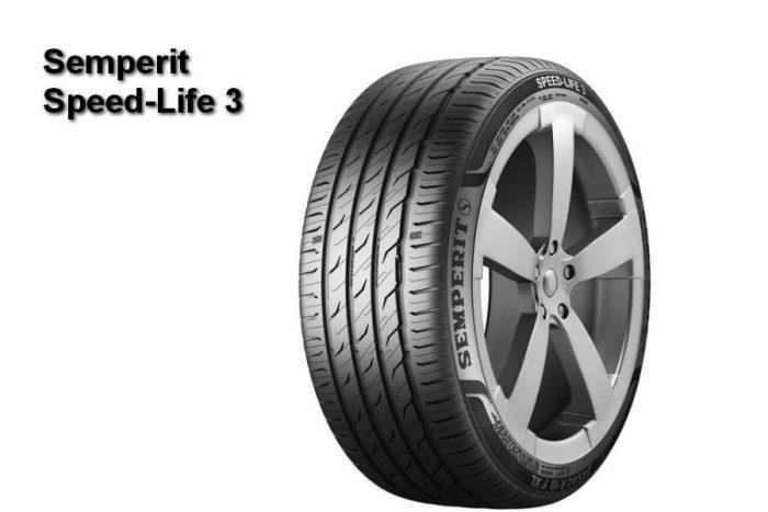 Test of 205 55 R16 Semperit Speed-Life 3