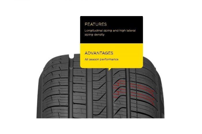 Pirelli Cinturato P7 All Season Plus Tire 4
