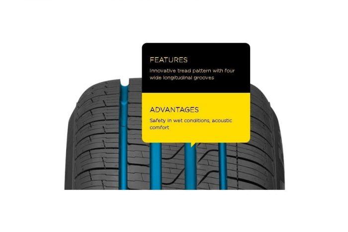 Pirelli Cinturato P7 All Season Plus Tire 5