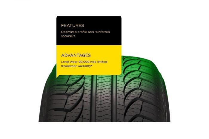 Pirelli P4 Four Seasons Plus Tire 5