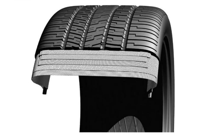 Goodyear Eagle RS-A Tire 3
