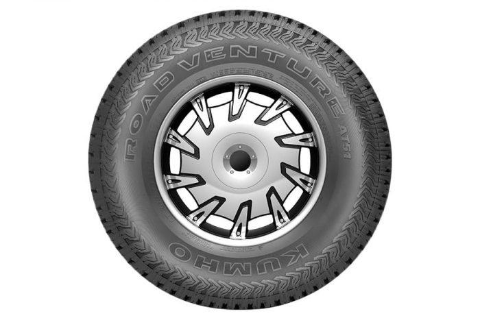 Kumho Road Venture AT51 Tire 1
