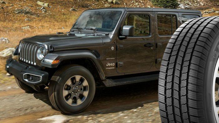 Jeep Wrangler tires