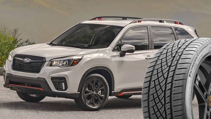 Subaru Forester tires
