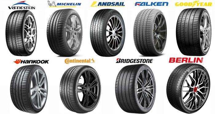 Test of 265 35Z R20 Summer tires